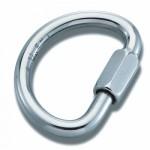 Demi Round Aluminium 10mm Maillon