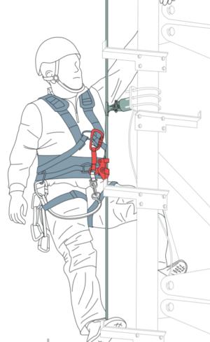 fallprotec vertical lifeline securope fall protection