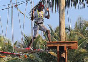 adventure park height safety equipment