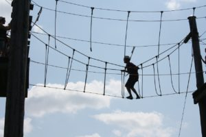 ropes course safety equipment