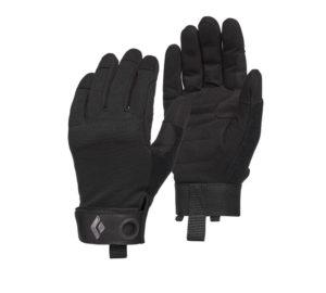 Crag full finger gloves 2021 all black