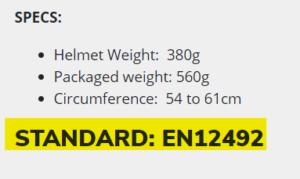 Standards EN example 2